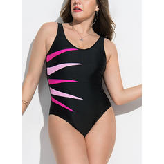 Barevný Popruh Elegantní Jednodílné Plavky