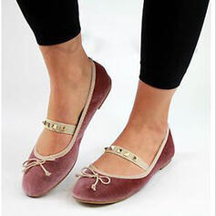 Mulheres Camurça Sem salto Sem salto com Rivet sapatos