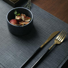 Solid Rectangulaire Cuir Place Mats