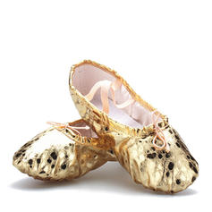Women's Ballet Flats Leatherette Ballet