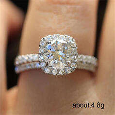 Charming Fancy Alloy Zircon Rings