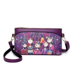 Elegant/Vintga PU Crossbody Bags/Shoulder Bags/Wallets & Wristlets