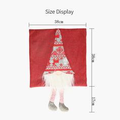 Merry Christmas Long Leg Cloth Pillow Cover