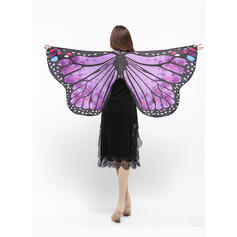 Animal Print/Colorful Shawls/Halloween/Wings Shaped/Women's/Butterfly Design Shawl