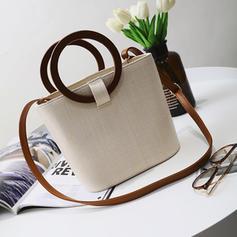 Elegant Straw Tote Bags/Shoulder Bags