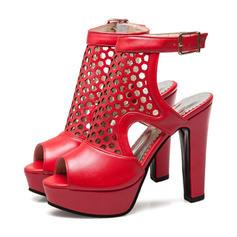 Сандалі Насоси Платформа взуття на короткій шпильці Босоніжки взуття