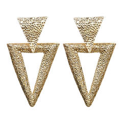 Stylish Simple Alloy Women's Earrings