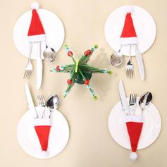 joyeux Noël Tissu non tissé Couverture de vaisselle