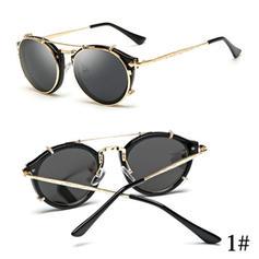 UV400/HD Retro /Annata Rotondo Occhiali da sole
