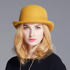 Ladies' Elegant/Exquisite/Vintage Wool Bowler/Cloche Hats