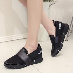 Femmes Cuir en microfibre Talon plat Chaussures plates avec Autres chaussures
