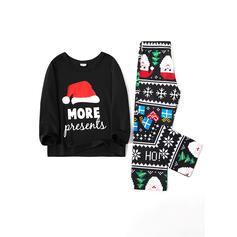 Nisse Letter Familie matchende Jule Pyjamas