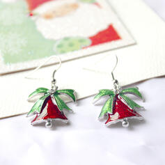 Christmas Bell Alloy Women's Earrings 2 PCS