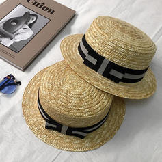 Unisex Nice Rattan Straw With Bowknot Straw Hat/Beach/Sun Hats