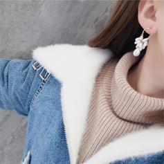 Smukke Legering Imiteret Pearl Kvinder øreringe