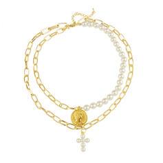Único Exquisite Liga Falso pérola com Pérola Imitação Conjuntos de jóias Jóias De Praia