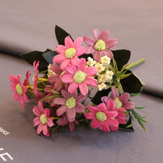 12'' Sunflower & Daisy Silk Bouquets