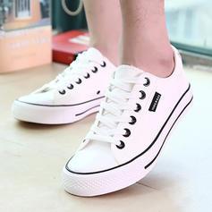 Γυναίκες Καμβάς Επίπεδη φτέρνα Διαμερίσματα Με Κέντημα-επάνω παπούτσια