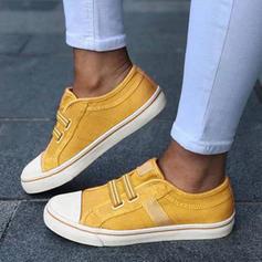Kvinnor Duk Flat Heel Platta Skor / Fritidsskor med Andra skor
