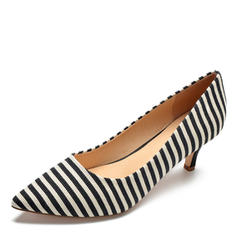 Women's Fabric Stiletto Heel Pumps shoes