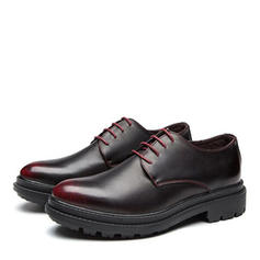 Lace-up Derbies Ruha cipő Műbőr Férfi Férfi Oxfords