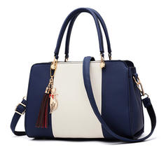 Refined PU Satchel/Shoulder Bags