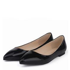 De mujer Piel brillante Tacón plano Planos Cerrados con Otros zapatos