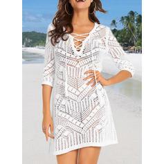V-neck Elegant Fashionable Classic Cover-ups Swimsuits