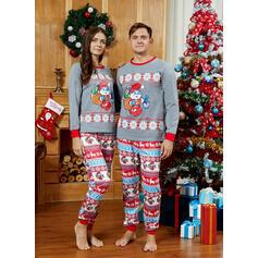 漫画 印刷 マッチングファミリー クリスマスパジャマ