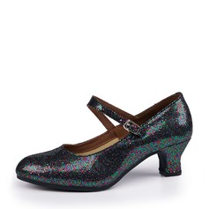 Women's Character Shoes Heels Sparkling Glitter Character Shoes
