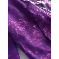 Polyester Inmprimé Tie-Dye Capuche