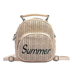 Elegant Linen Backpacks