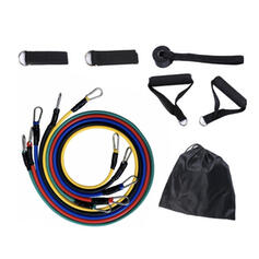 High Quality Sports Multi-functional TPE Resistance Band (Set of 5)