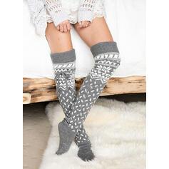 Punktmuster/Druck Atmungsaktiv/Komfortabel/Damen/Weihnachten/Knee-High Socks Socken/Strümpfe Socken