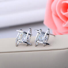 Beautiful Alloy With Rhinestone Ladies' Fashion Earrings