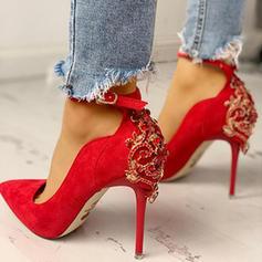Bayanlar PU Topuklu ayakkabı Pompalar Ile Toka ayakkabı