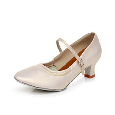 Femmes Chaussures de Caractère Talons Similicuir Bal