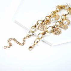 Fashionable Cool Alloy With Imitation Pearl Necklaces