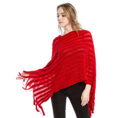 Solid Color Oversized/fashion/simple Poncho