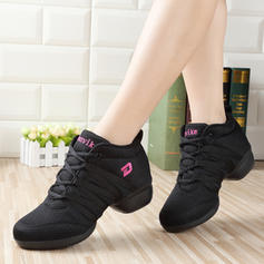 Frauen Sneakers Tanzschuhe Mesh Tanzschuhe