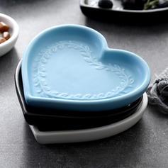 Kształt serca Porcelana Płytki deserowe