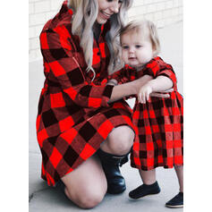 Mama und Ich Karierte Passende Kleider