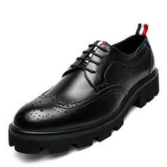 Men's Leatherette Brogue Casual Men's Oxfords