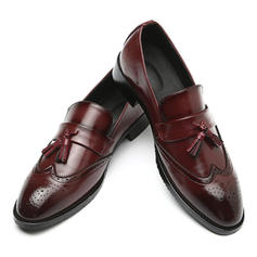 Men's Leatherette Tassel Loafer Casual Men's Loafers