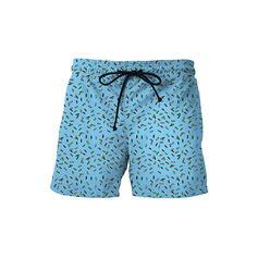 Men's Dot Board Shorts Swimsuit