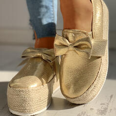 Femmes Toile Décontractée De plein air avec Bowknot chaussures