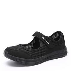 Mulheres Pano Malha Casual Outdoor sapatos