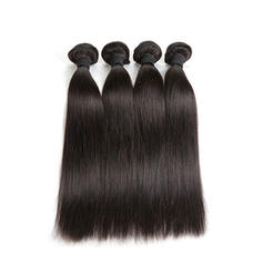 5A Straight Human Hair Human Hair Weave (Sold in a single piece) 50g