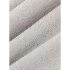 Solid V-neck Sweater Dress