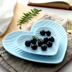 Heart Shape Porcelain Dinnerware Sets (Set of 2)